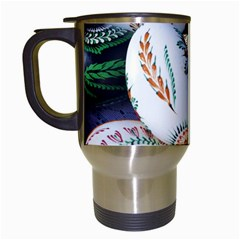 Model Color Traditional Travel Mugs (White)