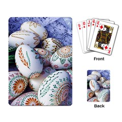 Model Color Traditional Playing Cards Single Design