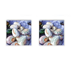 Model Color Traditional Cufflinks (square) by Nexatart
