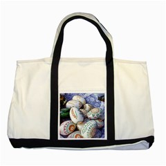 Model Color Traditional Two Tone Tote Bag