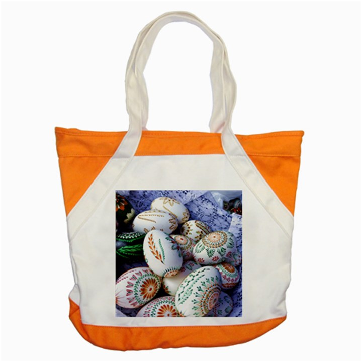 Model Color Traditional Accent Tote Bag