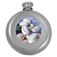Model Color Traditional Round Hip Flask (5 oz)