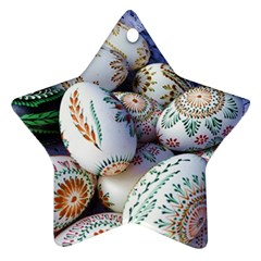 Model Color Traditional Star Ornament (Two Sides)