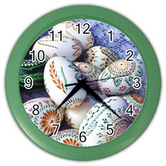 Model Color Traditional Color Wall Clock by Nexatart