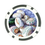 Model Color Traditional Poker Chip Card Guard Back