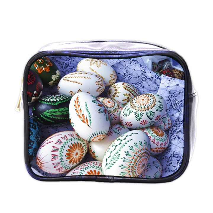 Model Color Traditional Mini Toiletries Bag (One Side)