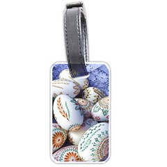 Model Color Traditional Luggage Tags (One Side)