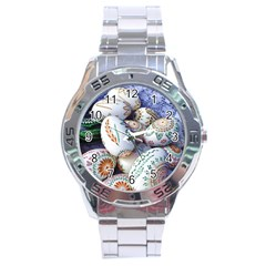 Model Color Traditional Stainless Steel Analogue Watch by Nexatart