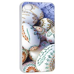 Model Color Traditional Apple iPhone 4/4s Seamless Case (White)