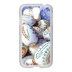 Model Color Traditional Samsung Galaxy S4 I9500/ I9505 Case (white) by Nexatart