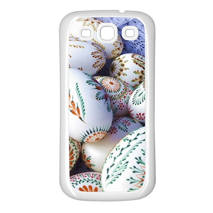 Model Color Traditional Samsung Galaxy S3 Back Case (White)