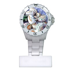 Model Color Traditional Plastic Nurses Watch by Nexatart