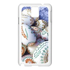 Model Color Traditional Samsung Galaxy Note 3 N9005 Case (White)