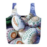 Model Color Traditional Full Print Recycle Bag (L) Front