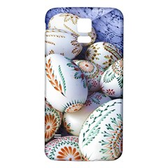 Model Color Traditional Samsung Galaxy S5 Back Case (White)