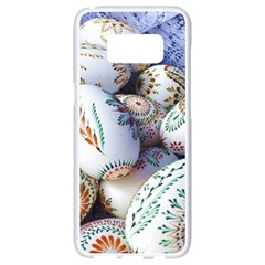 Model Color Traditional Samsung Galaxy S8 White Seamless Case by Nexatart