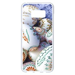 Model Color Traditional Samsung Galaxy S8 Plus White Seamless Case by Nexatart