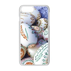 Model Color Traditional Apple iPhone 8 Plus Seamless Case (White)