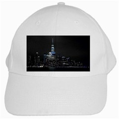 New York Skyline New York City White Cap