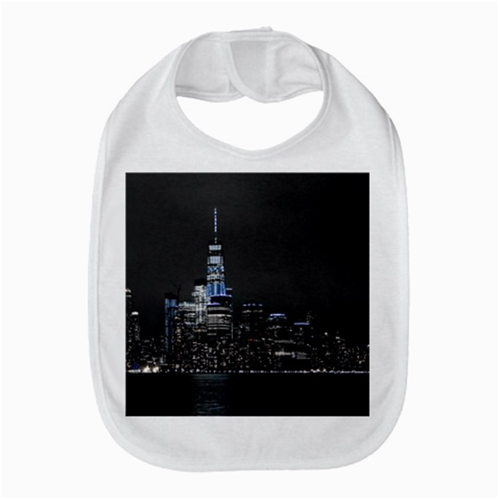 New York Skyline New York City Bib