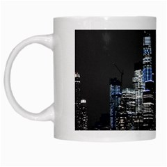 New York Skyline New York City White Mugs by Nexatart