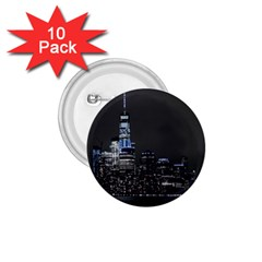 New York Skyline New York City 1 75  Buttons (10 Pack)