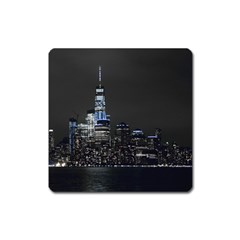 New York Skyline New York City Square Magnet