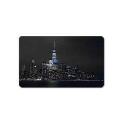 New York Skyline New York City Magnet (name Card)