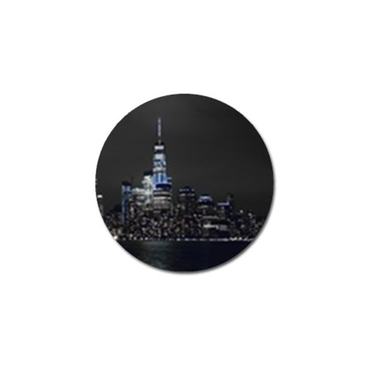 New York Skyline New York City Golf Ball Marker (4 pack)