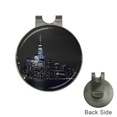 New York Skyline New York City Hat Clips With Golf Markers by Nexatart