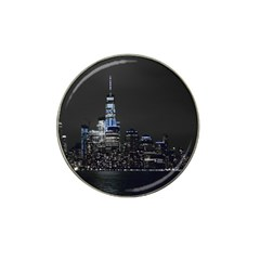 New York Skyline New York City Hat Clip Ball Marker by Nexatart