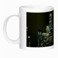 New York Skyline New York City Night Luminous Mugs