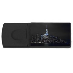 New York Skyline New York City Rectangular Usb Flash Drive