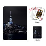 New York Skyline New York City Playing Cards Single Design Back