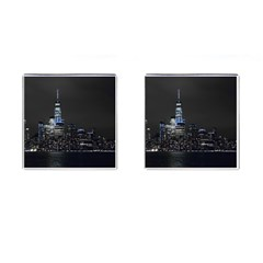 New York Skyline New York City Cufflinks (square)