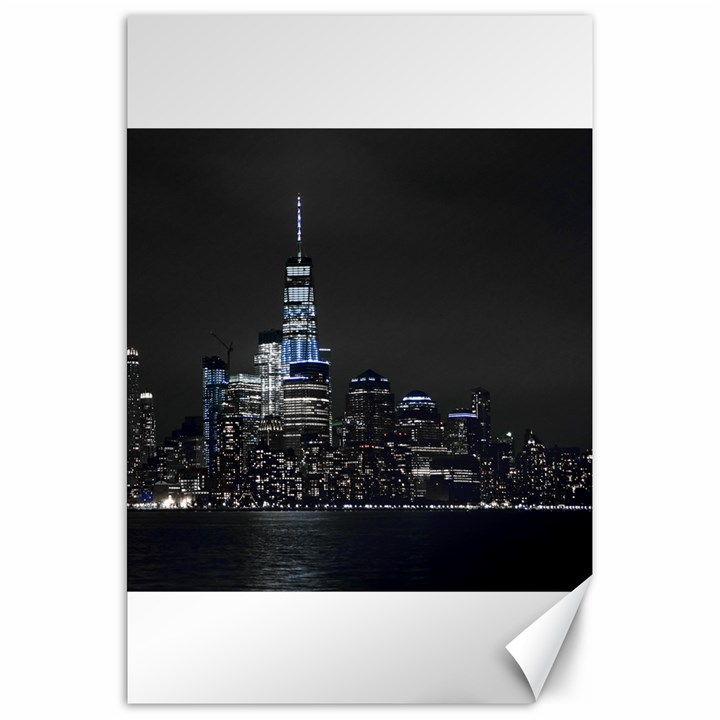 New York Skyline New York City Canvas 20  x 30