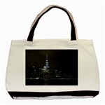 New York Skyline New York City Basic Tote Bag (Two Sides) Back