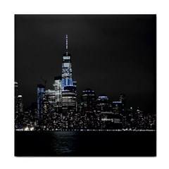 New York Skyline New York City Face Towel
