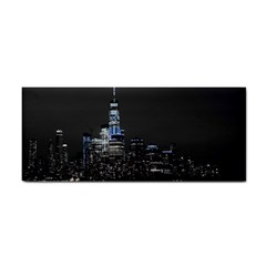 New York Skyline New York City Hand Towel