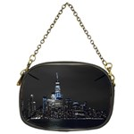 New York Skyline New York City Chain Purse (Two Sides) Back