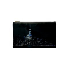 New York Skyline New York City Cosmetic Bag (small)