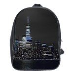 New York Skyline New York City School Bag (Large) Front