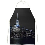 New York Skyline New York City Full Print Aprons Front