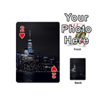 New York Skyline New York City Playing Cards 54 (Mini) Front - Heart2