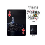 New York Skyline New York City Playing Cards 54 (Mini) Front - Heart5