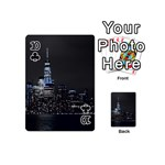 New York Skyline New York City Playing Cards 54 (Mini) Front - Club10