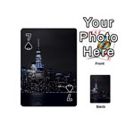 New York Skyline New York City Playing Cards 54 (Mini) Front - Spade7