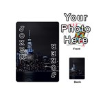 New York Skyline New York City Playing Cards 54 (Mini) Front - Joker1