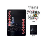New York Skyline New York City Playing Cards 54 (Mini) Front - Joker2