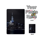 New York Skyline New York City Playing Cards 54 (Mini) Back